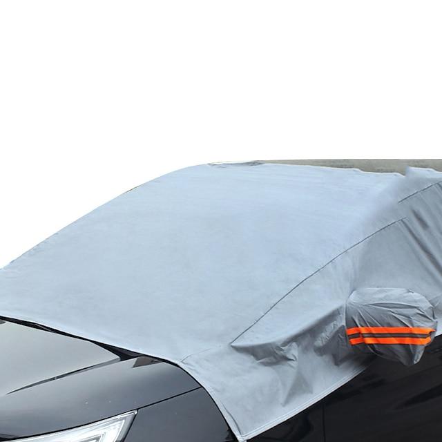 r-3909-1 лобовое стекло автомобиля снежный покров для лобового стекла автомобиля защита от льда водонепроницаемый лобовое стекло автомобиля солнцезащитный козырек наполовину крышка автомобиля с