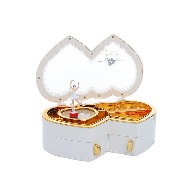 Music Box Music Jewelry box Piano Ballet Dancer Unique ABS Women's Unisex Girls' Kid's Adults Graduation Gifts Toy Gift