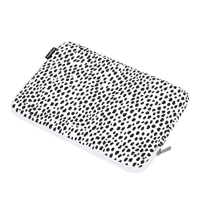 11,6 12 13,3 14,1 15,6 inch universal leopard print retro rezistent la apă geantă de manșon pentru laptop pentru suprafață / xiaomi / hp / dell / samsung / sony