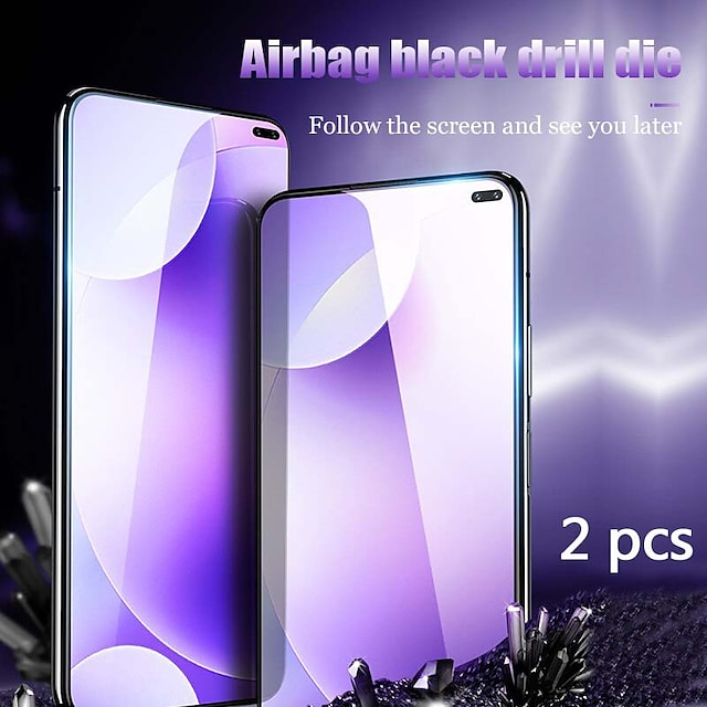 téléphone Protection Ecran Pour XIAOMI Verre Trempé Xiaomi Mi 9 Xiaomi Mi 9 Lite Xiaomi Mi Max 3 Xiaomi Mi Mix 2 Xiaomi Mi Mix 2S 2 pcs Haute Définition (HD) Dureté 9H Anti-Rayures Ecran de