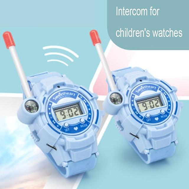 2296 Talkie walkie Portable Lampe Torche Radio bidirectionnelle <1,5 km <1,5 km
