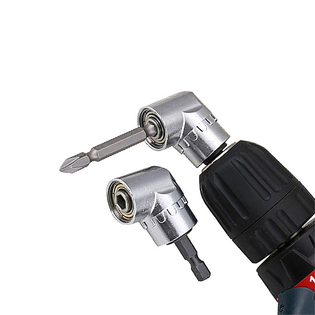 Round Corner Hex Bit 105 Degree Angle Screwdriver Socket Holder Adapter Adjustable Bits Drill Bit Angle Screw Driver Tool Socket