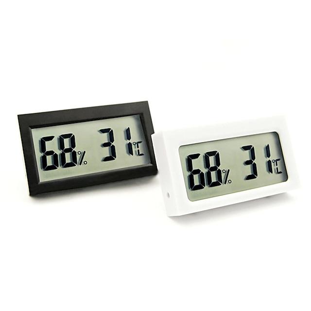 thermomètre de reptile de voiture s-ws05 mini thermomètre électronique pour boîte pour animaux de compagnie et aquarium