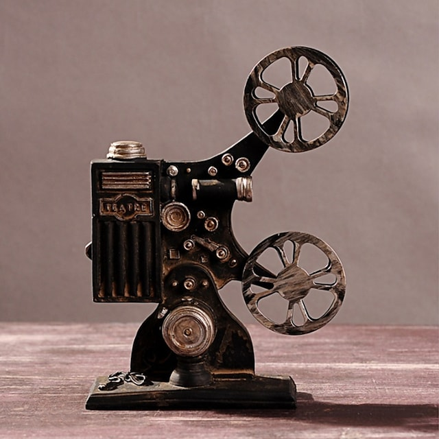Old Projector Home Decoration Retro Old Craft Ornaments