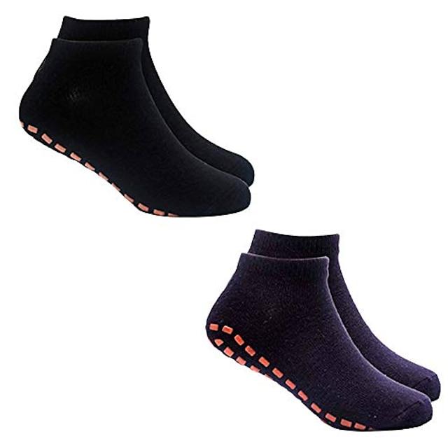 naisten Barre-sukat miesten liukumattomat sukat, joissa on jooga-pilates-harjoitus 2 paria