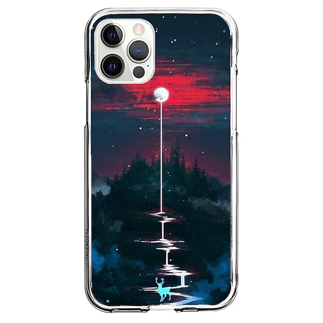 自然风光 電話 場合 にとって Apple iPhone 12 iPhone 11 iPhone 12 Pro Max ユニークなデザイン 保護ケース とスクリーンプロテクター 耐衝撃 バックカバー TPU