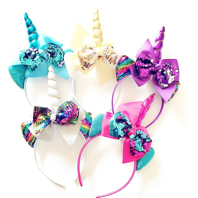 1pcs Toddler Girls' Sweet Floral Bow Hair Accessories White / Blue / Purple
