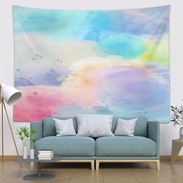 zidna tapiserija art dekor pokrivač zavjesa koja visi kući spavaća soba ukras dnevne sobe poliestera novost šarene halo boje