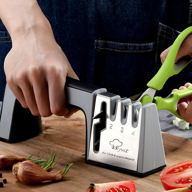 Kitchen knife sharpener household sharpener scissors
