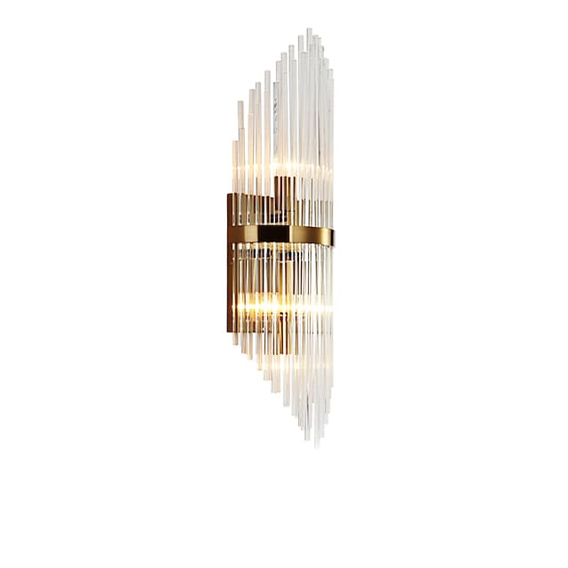 Crystal Modern Nordic Style Wall Lamps Wall Sconces Living Room Bedroom Crystal Wall Light 110-120V 220-240V
