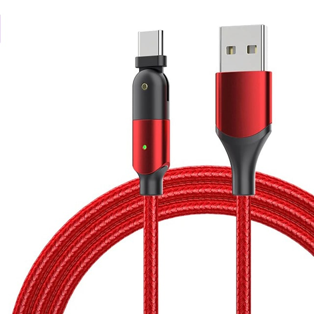 micro-USB USB C Kabel High-Speed Snelle kosten Dataoverdracht 2.4 A 1.2m (4ft) PVC Voor Xiaomi MI Samsung Xiaomi Mobiele telefoonaccessoire