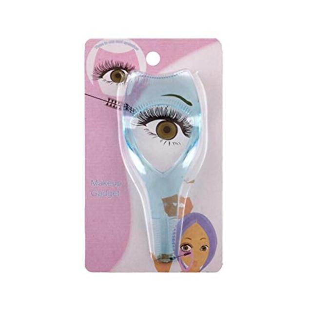 3 in1 mascara eyelash brush curler lash comb eyelash makeup tool
