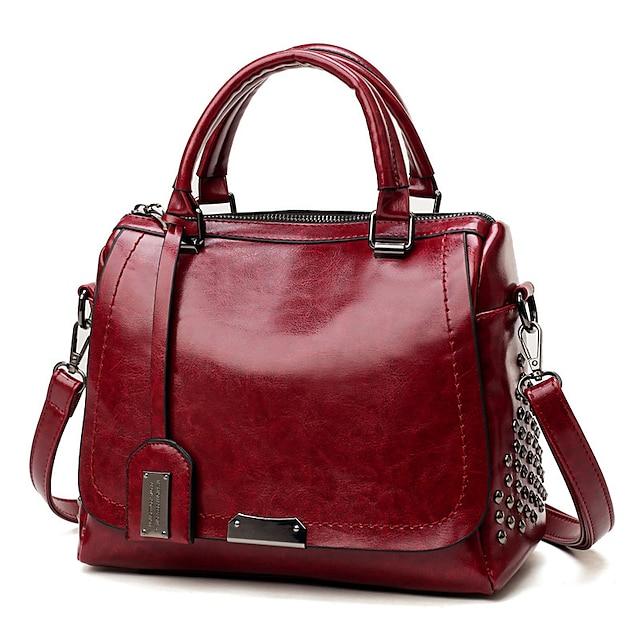 γυναικείες τσάντες από μαλακό δέρμα soluo για τσάντα γυναικείας τσάντας περιστασιακή τσάντα ώμου crossbody (μαύρο)