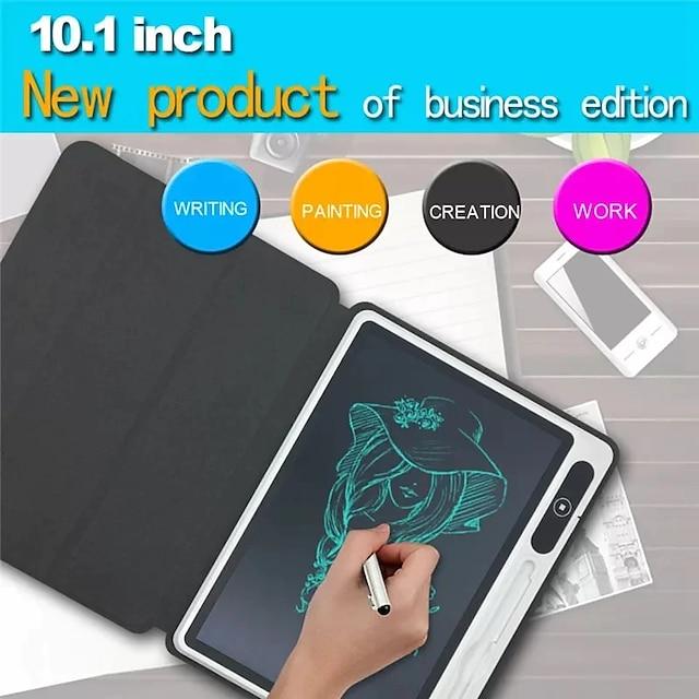 Tabletă de scris LCD de 10,1 inci, tablă electronică portabilă, tablou de desen electronic, tabletă ștearsă digitală, bloc de notă, scris de mână