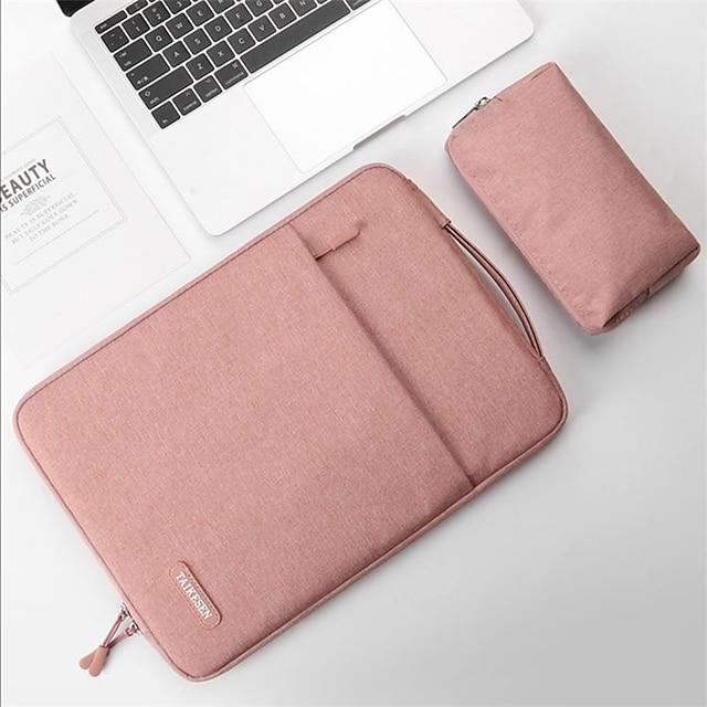 2個のラップトップノートブックケースタブレットスリーブカバーバッグ1415for macbookproair2020 retina xiaomi huawei hp dell