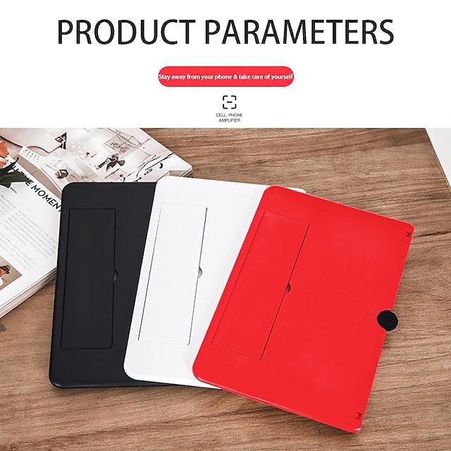 Telefonhalterung und Ständer Bett Tisch Verstellbarer Ständer Verstellbar Bildschirmlupe ABS Handy-Zubehör iPhone 12 11 Pro Xs Xs Max Xr X 8 Samsung Glaxy S21 S20 Note20
