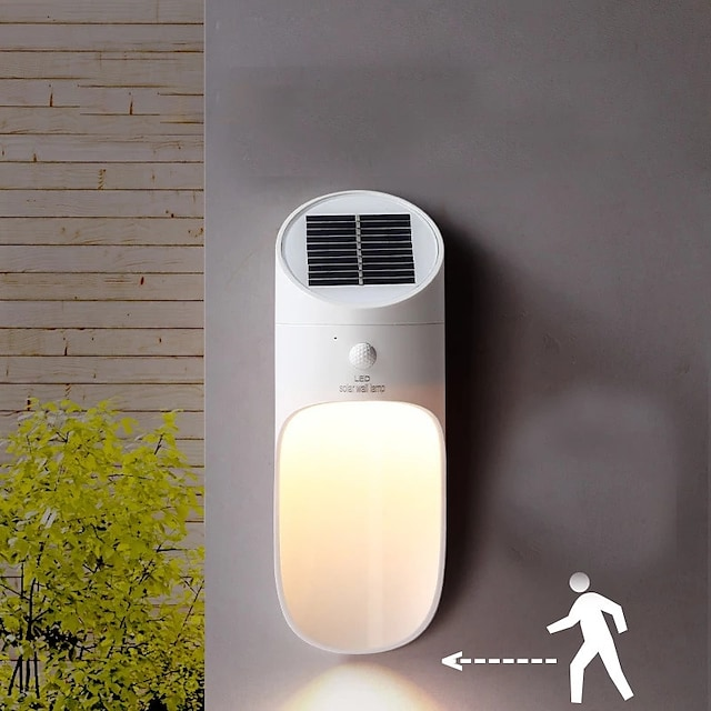 énergie solaire led micro-ondes capteur applique murale 15 led étanche extérieur puissance rue cour chemin chemin maison jardin lampe de sécurité