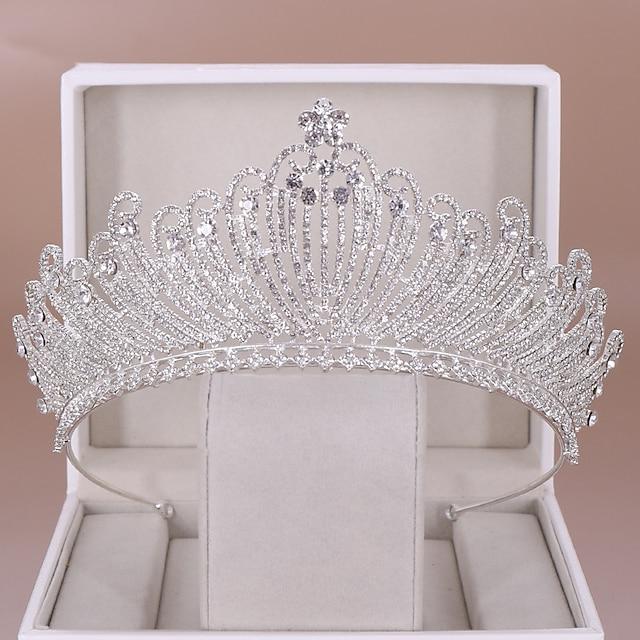 Wedding Bridal Rhinestone / Alloy Headpiece with Crystal 1 PC Wedding Headpiece