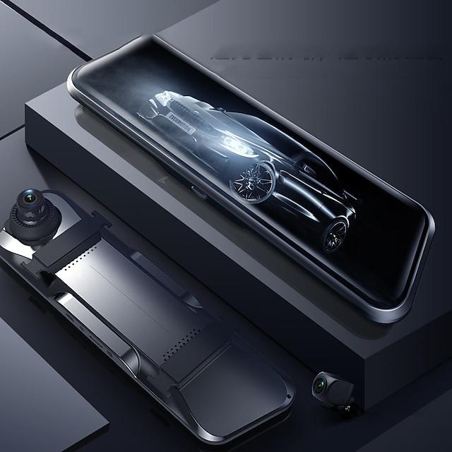 Anytek A46 1080p Starta automatisk inspelning Bil DVR Vid vinkel IPS Dash Cam med Video + foto Bilinspelare