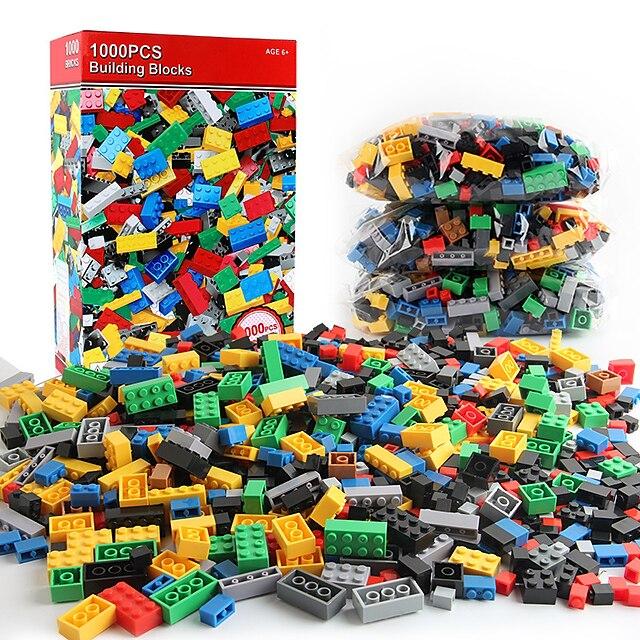 1000 stukjes bouwstenen voor kleine deeltjes, educatief speelgoed voor kinderen