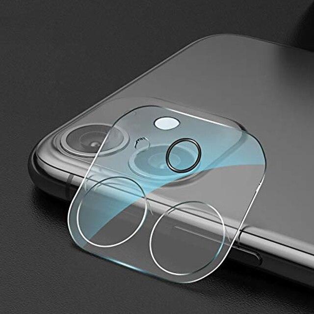 1ks Chránič objektivu fotoaparátu pro iPhone 12Pormax iPhone 11 Ochranný kryt kamery z tvrzeného skla Přátelský zadní objektiv Zadní kamera Ochranný film pro iPhone 12 Mini iPhone 11promax