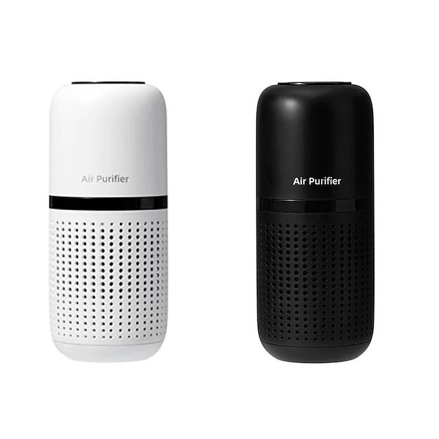 pročiščivač zraka za automobil u kući mini prijenosni ionizator anionski osvježivač usb punjivi difuzor svježeg zraka s hepa filterom