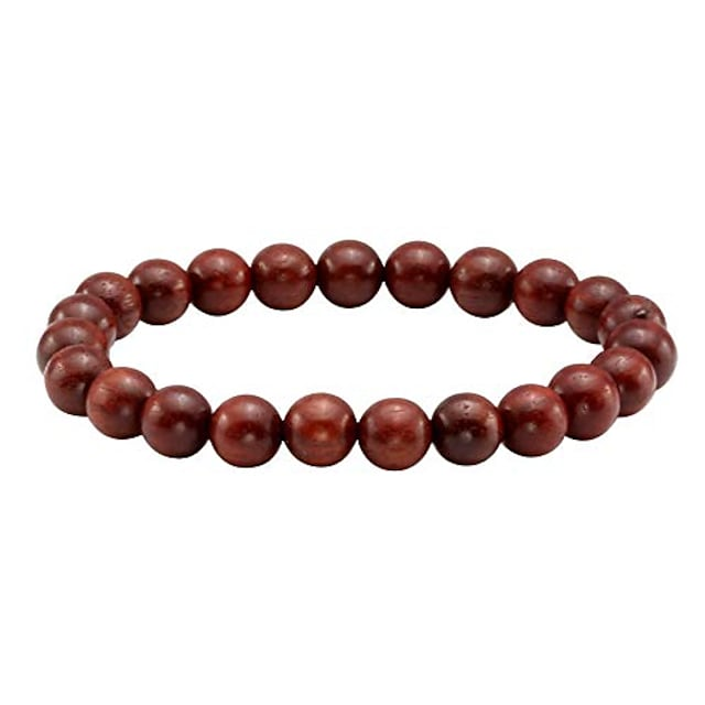 unisex sandalwood mala beads buddhist prayer bracelet for men women 8mm