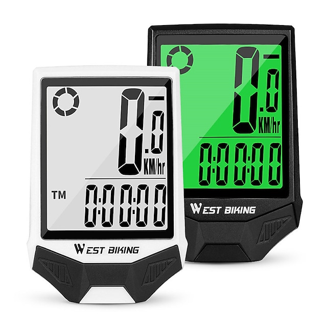gps bike computer wireless gps cycling computer bicycle speedometer ipx7 waterproof cycle computer red