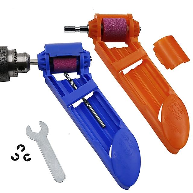 Grinder Wheel 1set Corundum Grinding Wheel Drill Bit Sharpener Titanium Drill Portable Drill Bit Powered Tool Parts