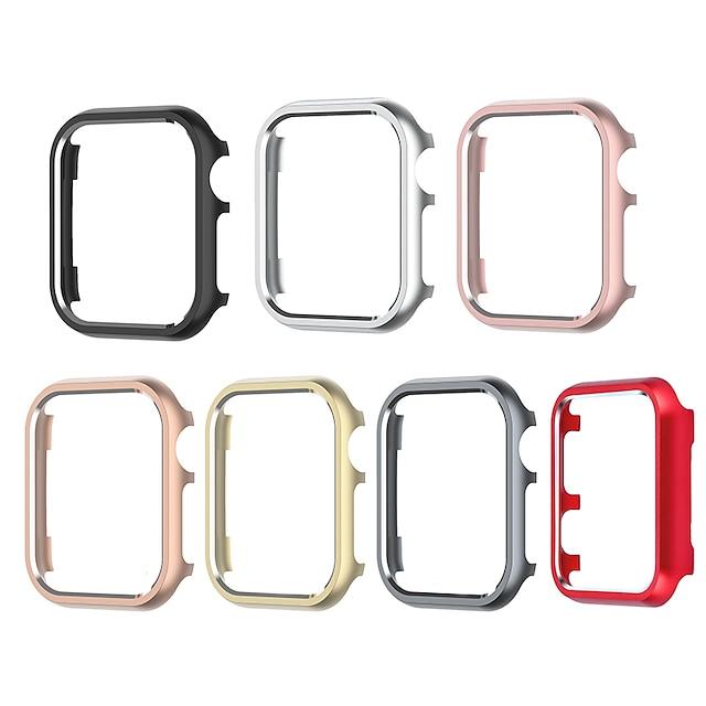 Custodie Per Apple  iWatch Apple Watch Serie 6 / SE / 5/4 44 mm / Apple Watch Serie  6 / SE / 5/4 40mm / Apple Watch Serie  3/2/1 38 mm Lega Proteggi Schermo Custodia per Smartwatch  Compatibilità