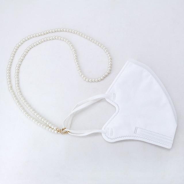 3pcs utilisation quotidienne lunettes chaîne pince pour les yeux masque lanière suspendue chaîne masque anti-perte de corde épidémie sans masque