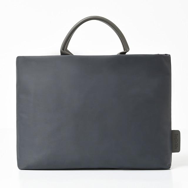 للجنسين مقاوم للماء نايلون حقيبة كمبيوتر محمول سحاب لون الصلبة مناسب للبس اليومي المكتب & الوظيفة حقائب أسود أزرق داكن رمادي