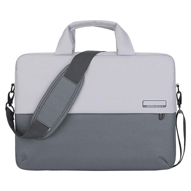 Unisex Bags Nylon Top Handle Bag Zipper Office & Career 2021 Gray Green
