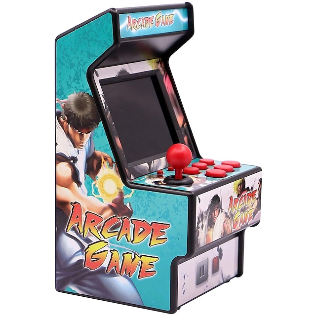 156 Games Handheld Game Player Game Console Mini Retro Arcade Mini Handheld Pocket Portable Built-in Game Card Support TV Output Classic Theme Vehicles Retro Video Games with 2.8 inch Screen Kid's