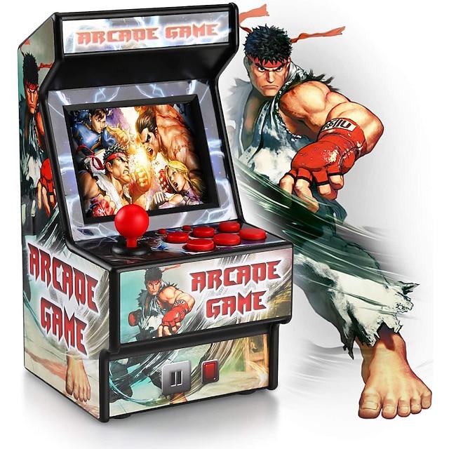 156 Games in 1 Jucător portabil Consolă de jocuri Mini Retro Arcade Reîncărcabil Mini portabil de buzunar portabil Suportă ieșirea TV Temă Clasică Jocuri video retro cu 2.8 inch Ecran Pentru copii