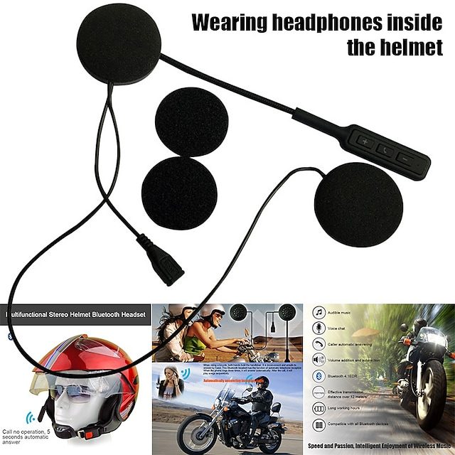 블루투스 4.0 헬멧 헤드셋 블루투스 / FM 라디오 모터사이클