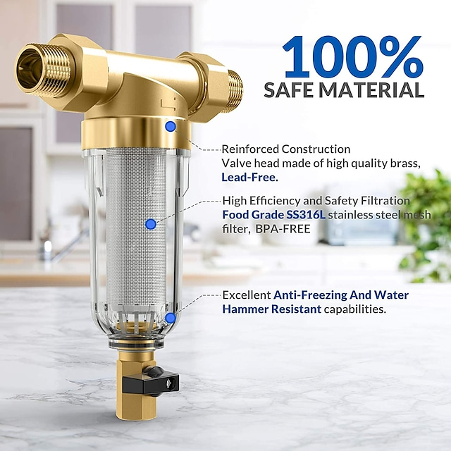 Accessorio rubinetto - Qualità superiore Filtro Moderno Ottone Others