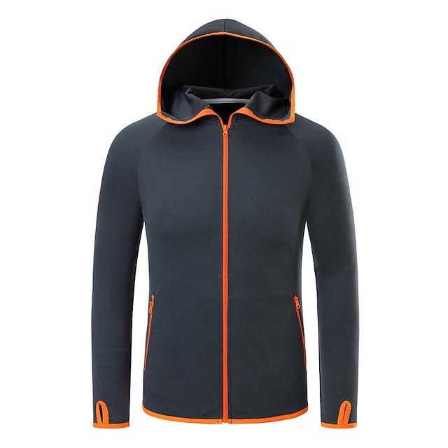 Men's Waterproof Hooded Lightweight Hiking Jacket