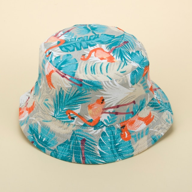 Adults' Sun Hat Bucket Hat Packable Quick Dry Breathable Spring, Fall, Winter, Summer Cotton Hat for Athleisure Fishing Camping & Hiking / Animal