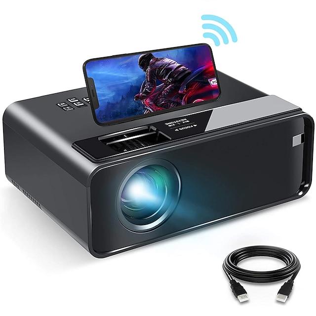wifi projektor wifi mini projektor se synchronizovanou obrazovkou smartphonu 1080p hd přenosný projektor s 200
