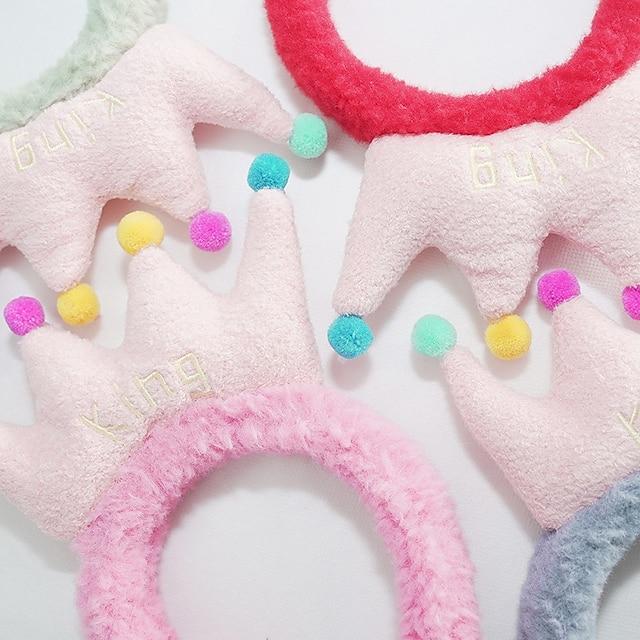 Coral Fleece Headband Washing Headgear Headband Cute Tying Hair Headband