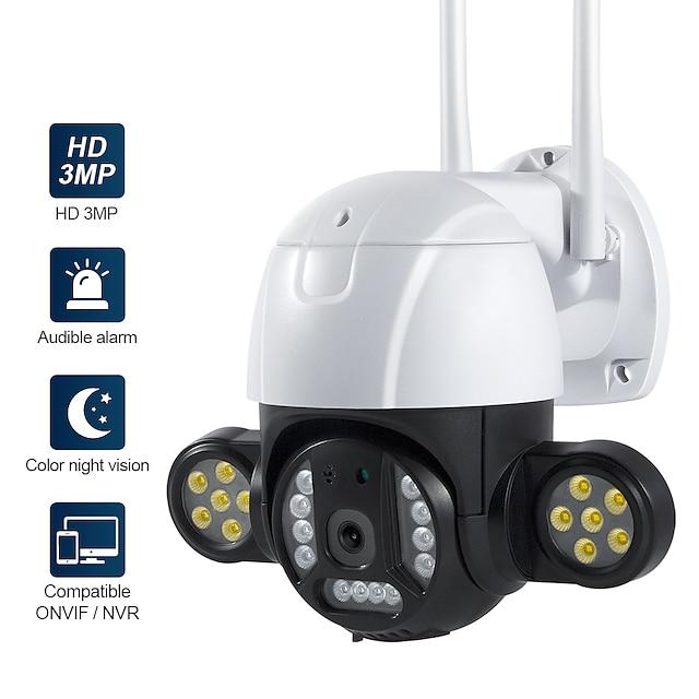 WAZA ST-496-3M-IC PTZ Bezdrátová Voděodolné Detekce pohybu Dálkový přístup Vevnitř Podpěra, podpora / Zvětšení