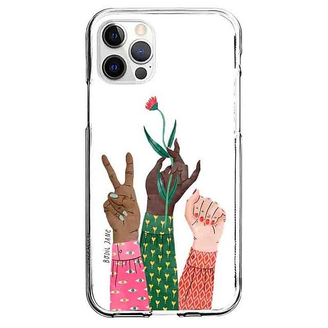 Kreativ Bemalt Fall Zum Apfel iPhone 12 iPhone 11 iPhone 12 Pro max Einzigartiges Design Schutzhülle Muster Rückseite TPU