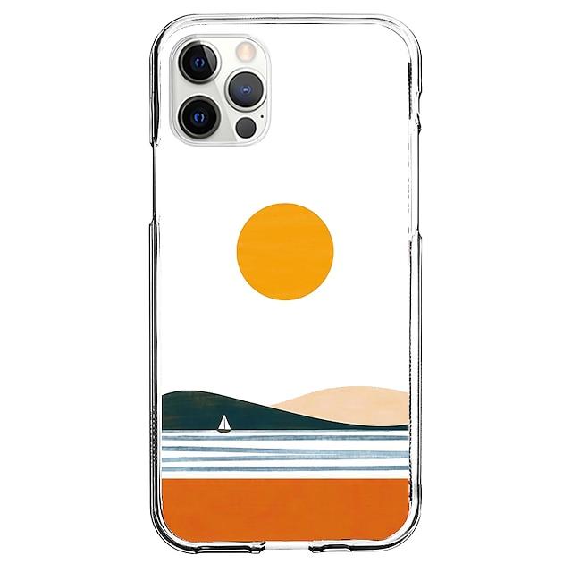 Kreativ Landschaft Telefon Fall Zum Apple iPhone 12 iPhone 11 iPhone 12 Pro max Einzigartiges Design Schutzhülle Muster Rückseite TPU