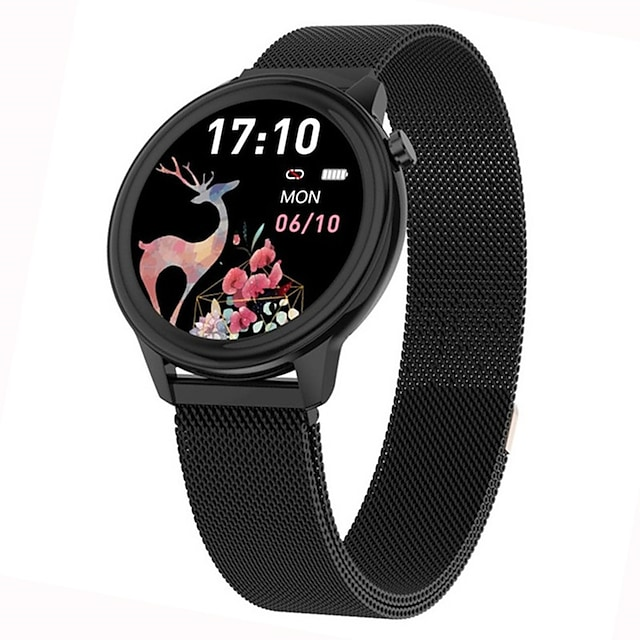 Factory Outlet F80 Smartwatch Fitness Watch for Android iOS Samsung Xiaomi Apple Bluetooth 1.3 inch Screen IP68 Waterproof Touch Screen Heart Rate Monitor Stopwatch Pedometer Call Reminder Men Women