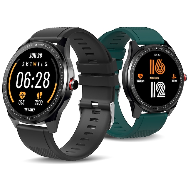 TICWRIS RS Smart Band Fitness Bracelet Bluetooth Timer Stopwatch Pedometer Waterproof Touch Screen Heart Rate Monitor IP68 45mm Watch Case for Android iOS Men Women / Sports / Long Standby