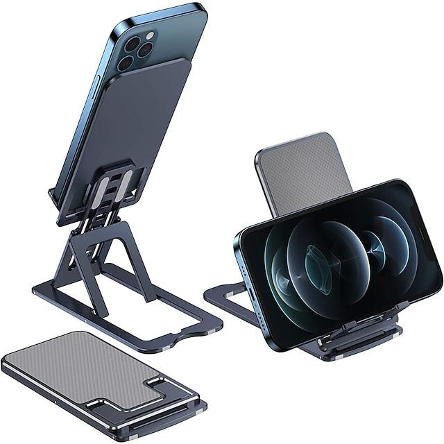 Montaje para Soporte de Teléfono Cama Escritorio Teléfono móvil Soporte Ajustable Soporte de escritorio para teléfono Ajustable Metal Accesorio para Teléfono Móvil iPhone 12 11 Pro Xs Xs Max Xr X 8