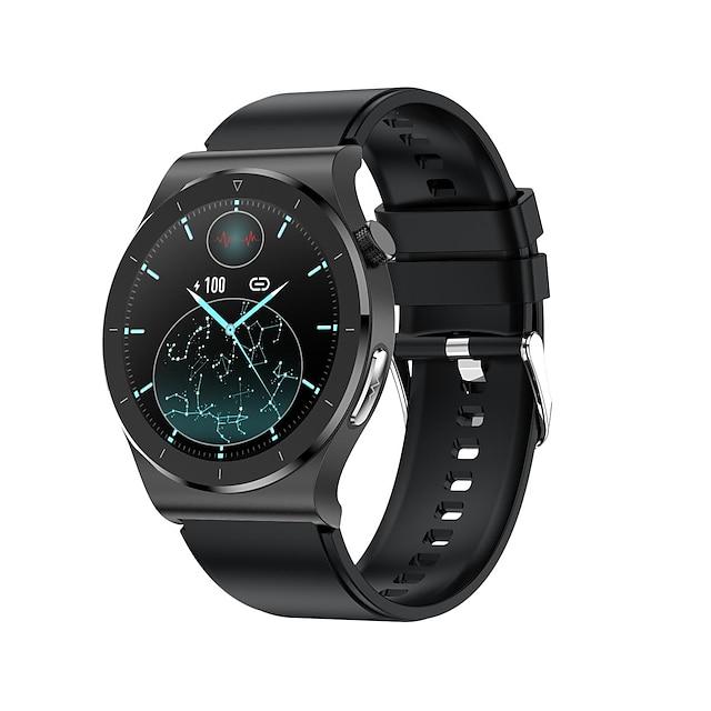 E20 Inteligentny zegarek Bluetooth EKG + PPG Stoper Krokomierz Wodoodporny Ekran dotykowy Pulsometry IP68 46mm etui na zegarek na Android iOS Mężczyźni Kobiety / Pomiar ciśnienia krwi / Sport