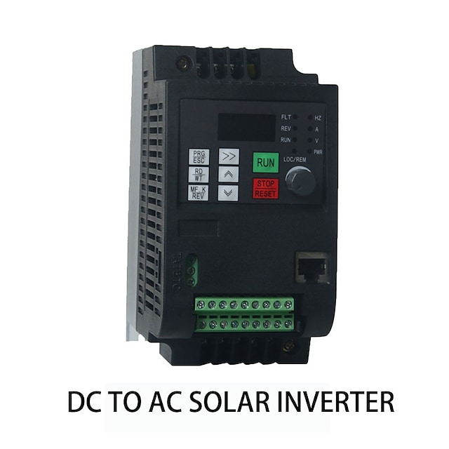 Photovoltaic power generation DC input 400-700V solar inverter 1.5kw2HP fan and water pump special output three-phase 380V built-in MPPT
