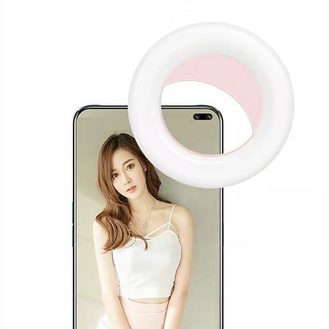 Mobile phone fill light For Samsung Universal Apple Phone & Electronics Portable Cute Mobile phone fill light ABS+PC